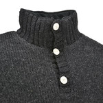 Pure Wool Pure Wool herentrui MNL-1701 Antraciet