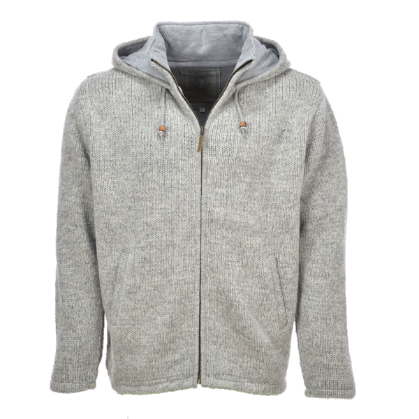 Pure Wool Pure Wool herenvest MNL-1704 Lichtgrijs