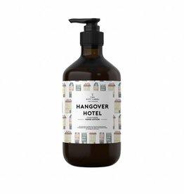 The gift label Handcreme pompje: hangover hotel