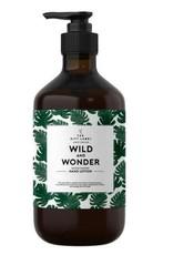 The gift label Handcreme pompje: wild & wonder