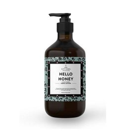 The gift label Handcreme pompje: hello honey