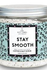 The gift label Scrubs: stay smooth