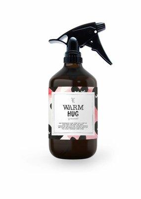 The gift label Roomspray: Warm hug - firewood