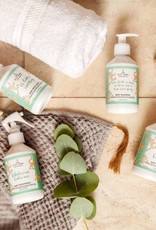 The gift label Baby body oil: Welcome
