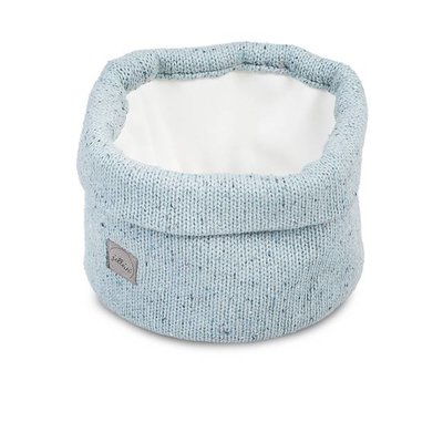 Jollein Jollein; Mandje Confetti knit stone green