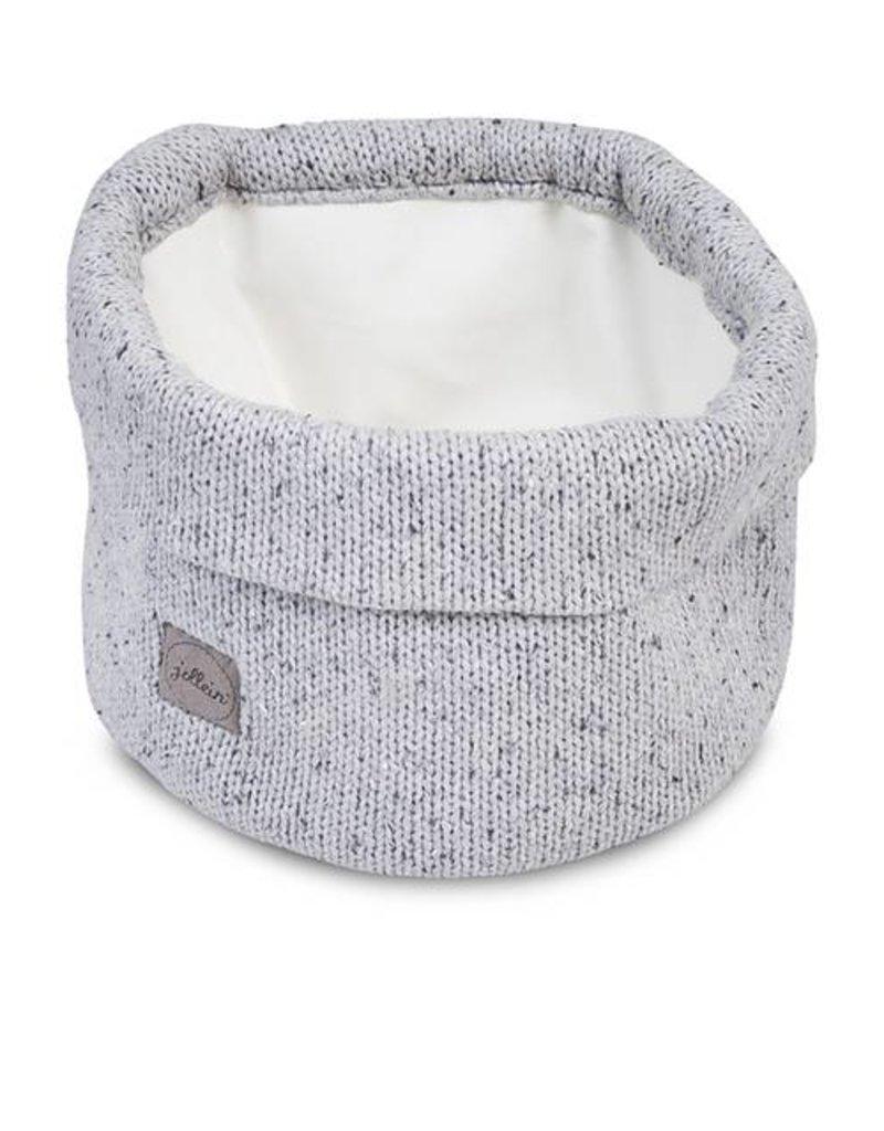 Jollein Mandje Confetti knit grey