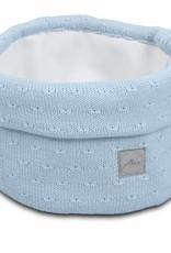 Jollein Mandje Soft knit soft blue