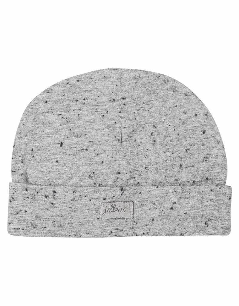 Jollein Muts 0-6 maand Speckled grey