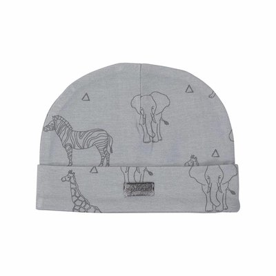 Jollein Muts 0-6 maand Safari grey