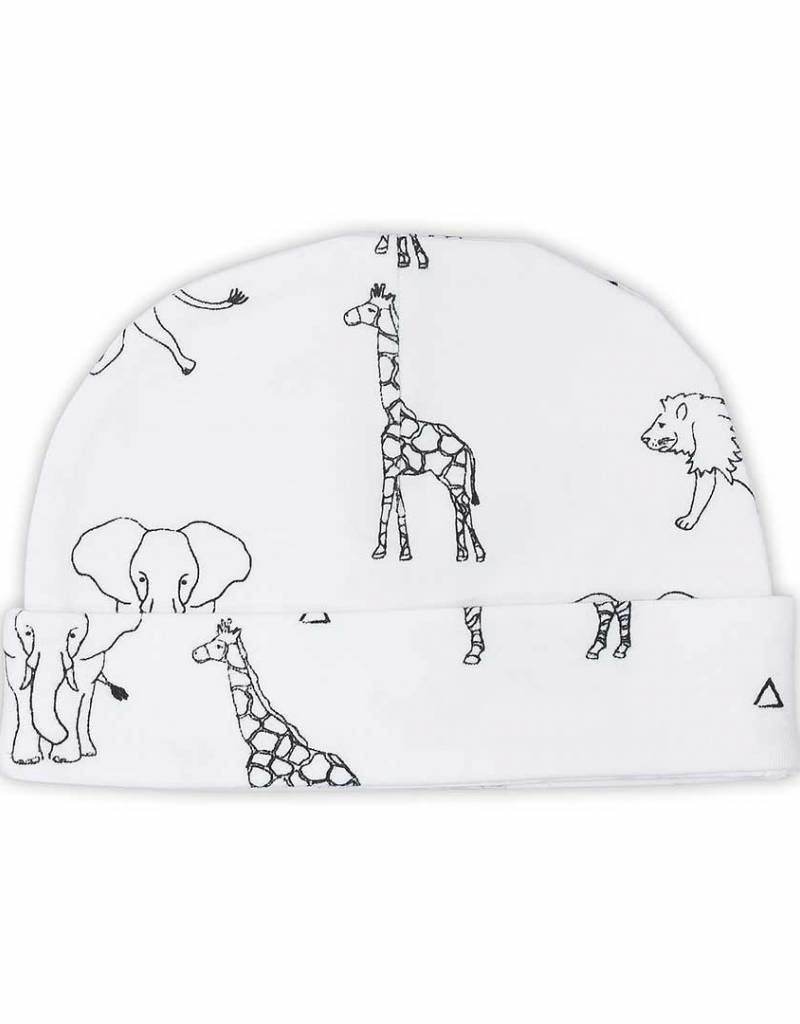 Jollein Muts 0-6 maand Safari black white