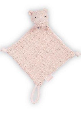 Jollein Knuffeldoekje Soft knit hippo creamy peach