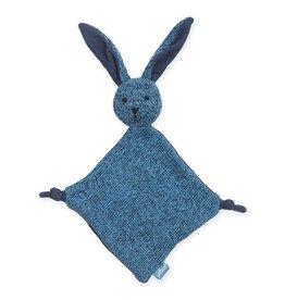 Jollein Knuffeldoekje Stonewashed knit bunny navy