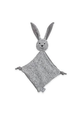 Jollein Knuffeldoekje Stonewashed knit bunny grey