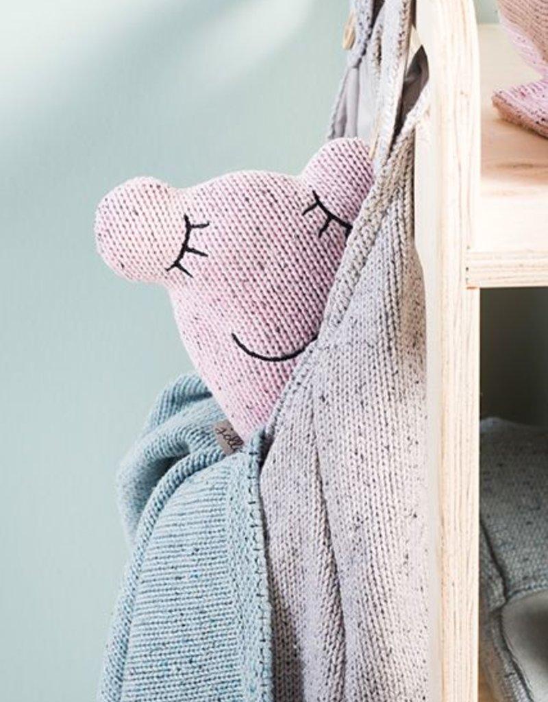 Jollein Knuffel Confetti monster vintage pink