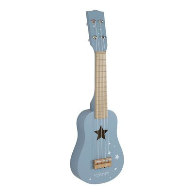 Little Dutch Gitaar - adventure blauw
