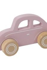 Little Dutch Auto hout - roze