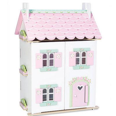 Le toy van Poppenhuis met meubeltjes