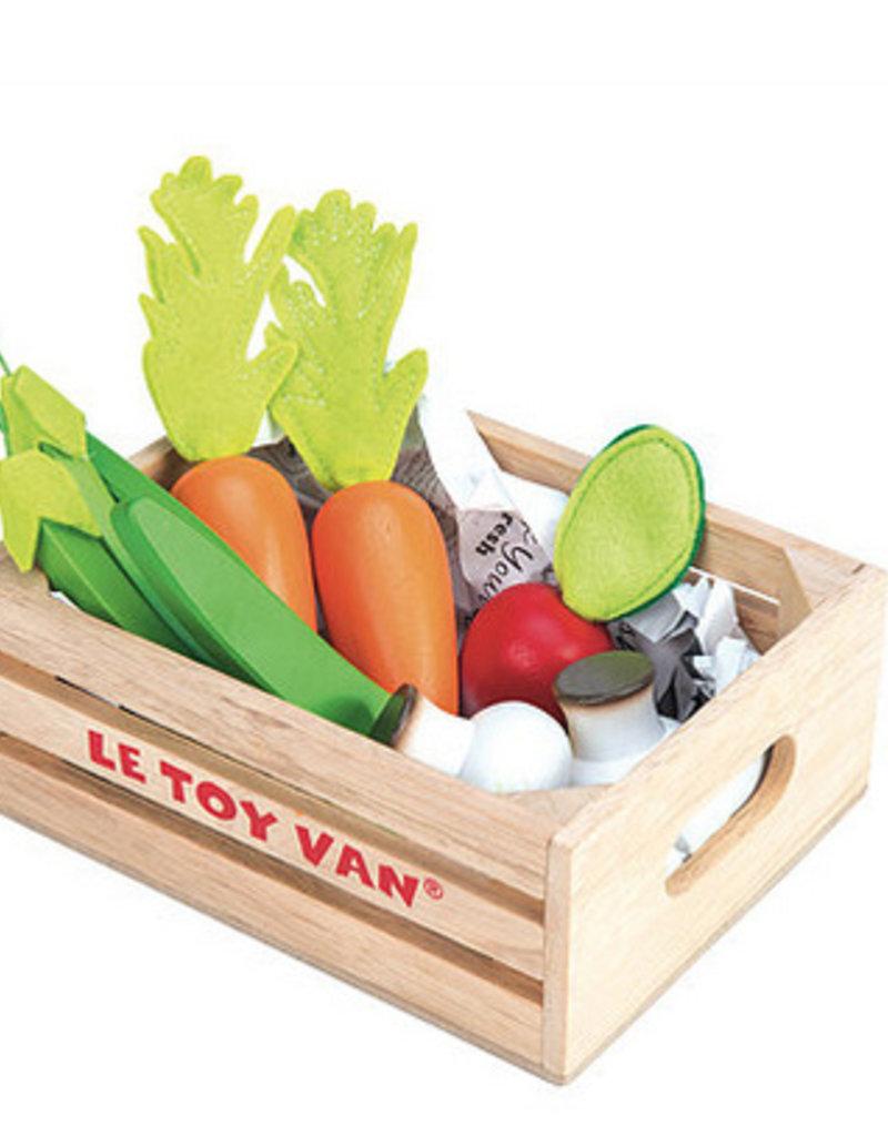 Le toy van Markt houten groenten