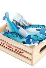 Le toy van Markt hout vis