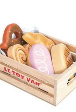 Le toy van Markt hout brood en gebak