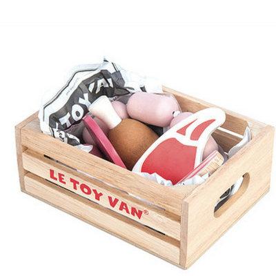 Le toy van Le Toy Van; Market Crate Meat