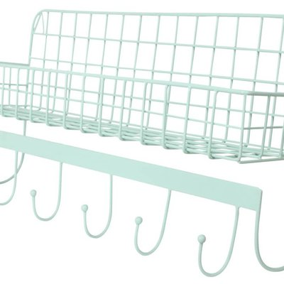 Kidsdepot Wire wallshelf mint