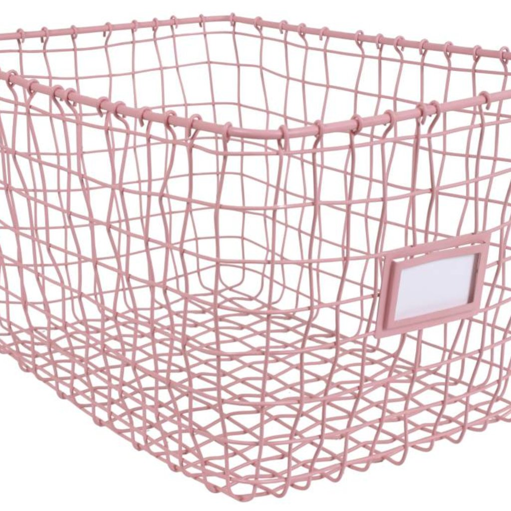 Kidsdepot STGD mandje roze (per stuk)