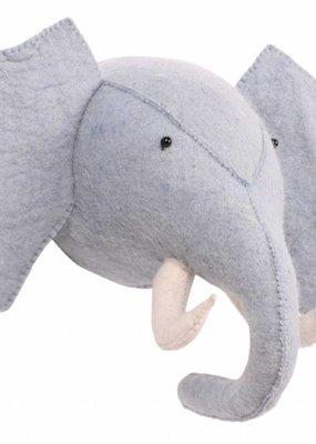 Kidsdepot Zoo olifant blauw