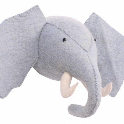 Kidsdepot Kidsdepot; Zoo olifant blauw