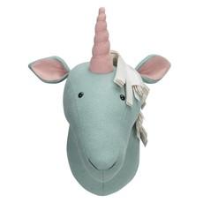 Kidsdepot Zoo unicorn licht blauw