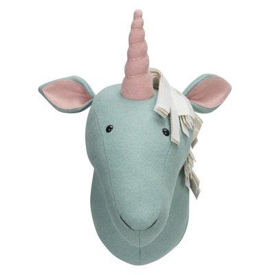 Kidsdepot Kidsdepot; Zoo unicorn licht blauw