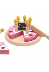 PlanToys Houten verjaardagstaart