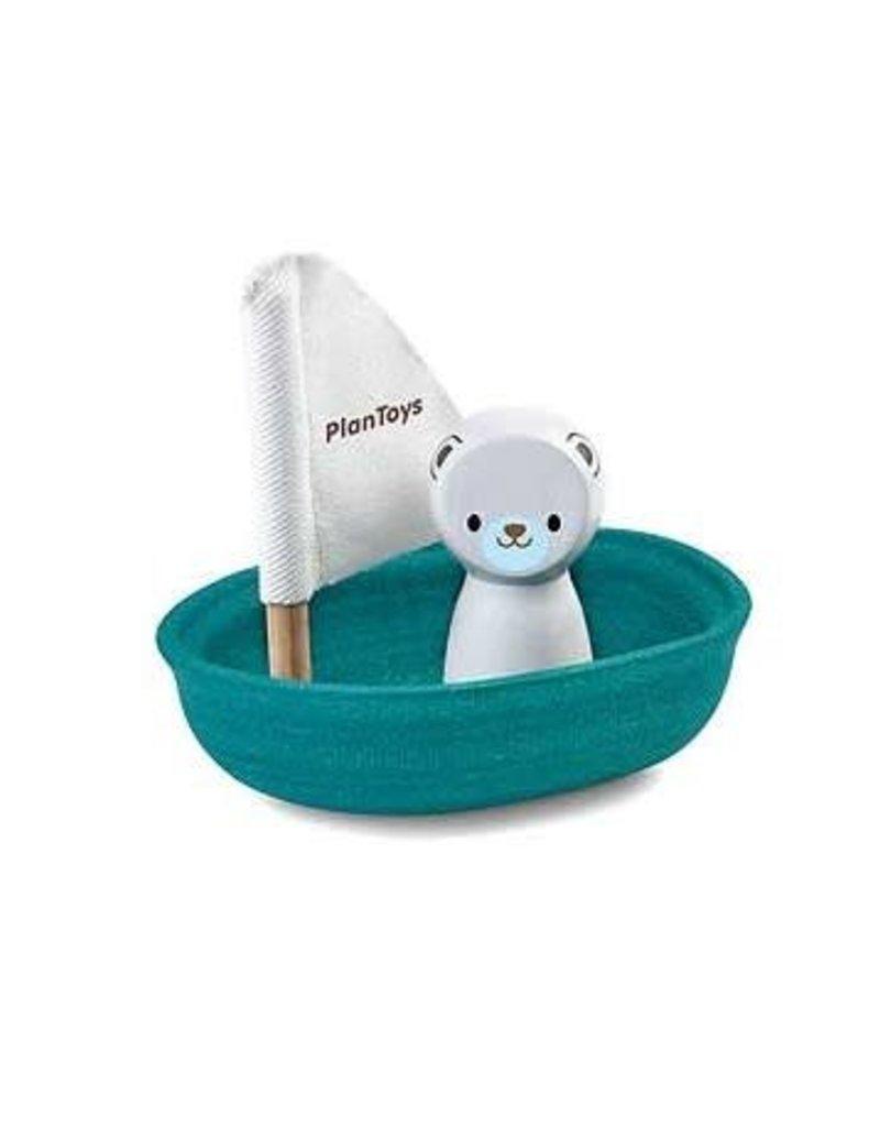 PlanToys Bootje ijsbeer