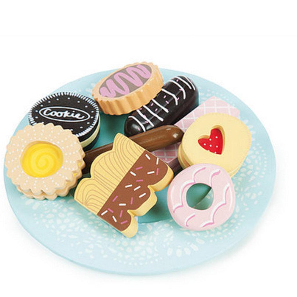 Le toy van Houten bord met koekjes