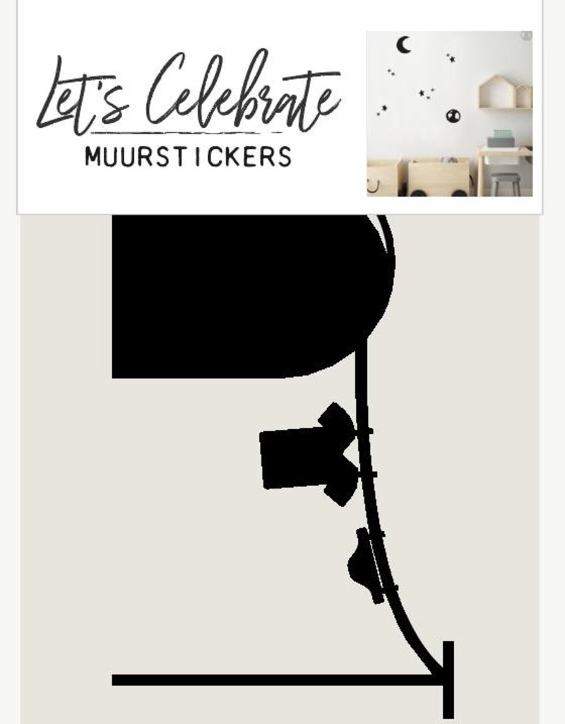 Let's Celebrate Muurstickers - Muizenhol