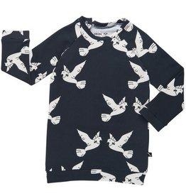 CarlijnQ Sweater dress - love birds