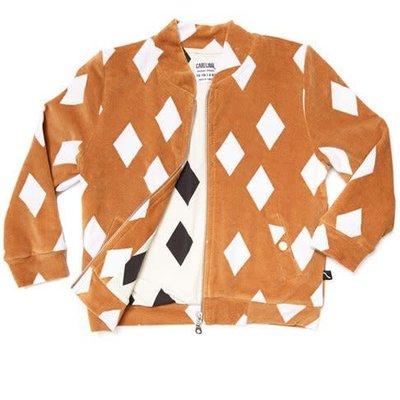 CarlijnQ Carlijn Q;   Diamonds Bomber jacket Geel
