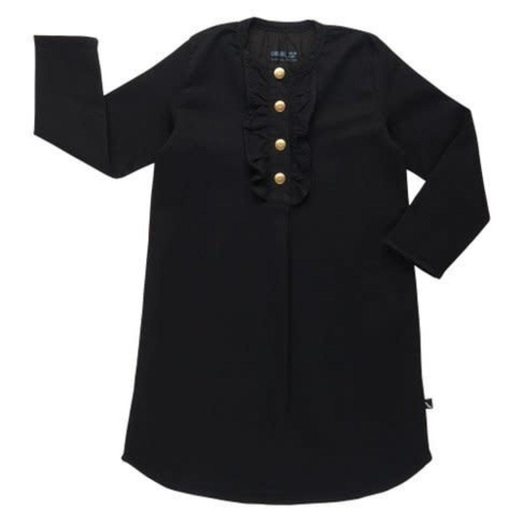 CarlijnQ Black denim tuniek jurkje