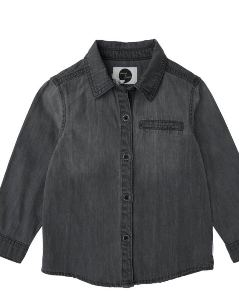 Sproet & Sprout Shirt denim grijs