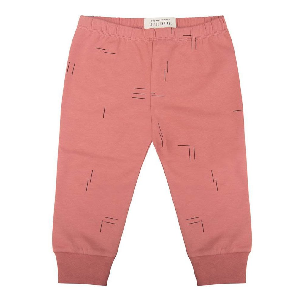 Little Indians Little Indians; Legging streepje roze