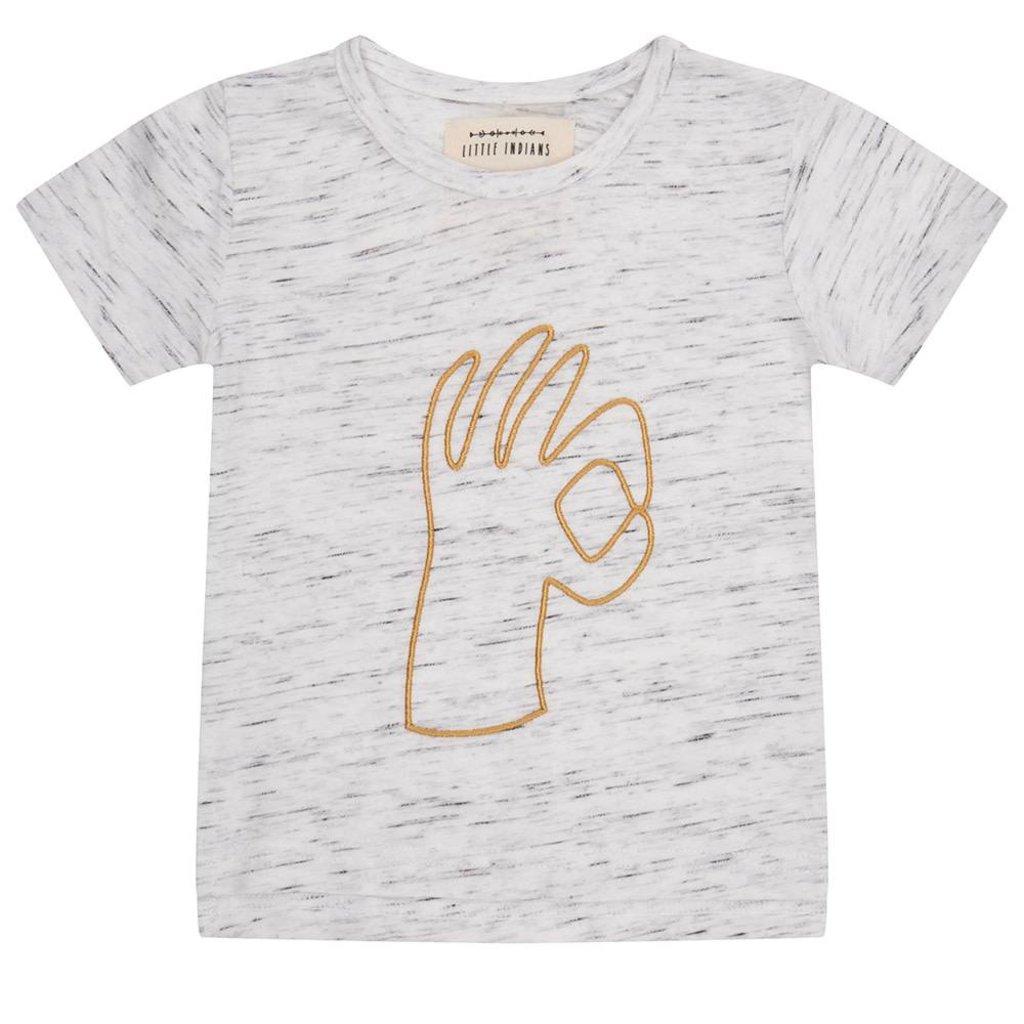 Little Indians Shirt okay grijs