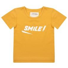 Little Indians Shirt Smile Geel