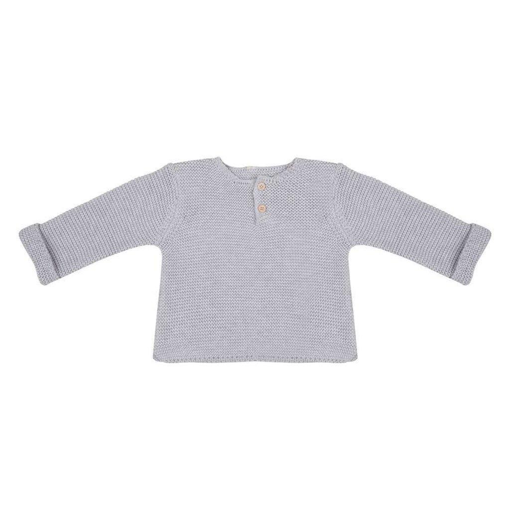 Little Indians Trui knit licht grijs