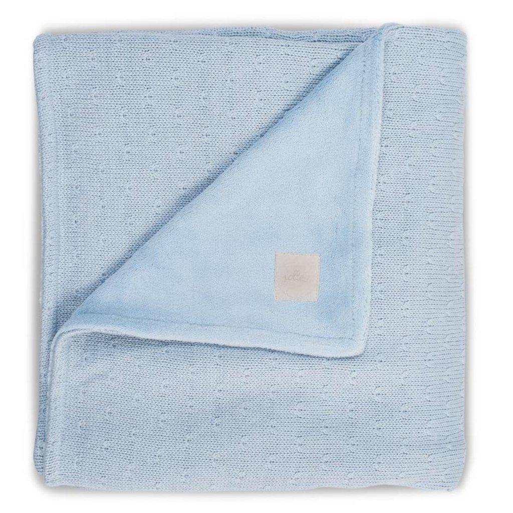 Jollein Deken soft soft blue teddy