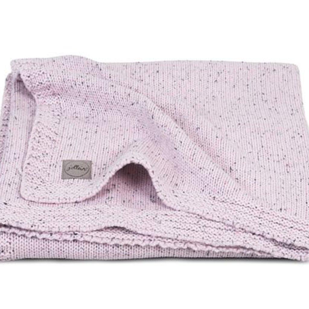 Jollein Deken Confetti knit vintage pink