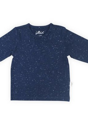 Jollein Shirt speckle blue lange mouw
