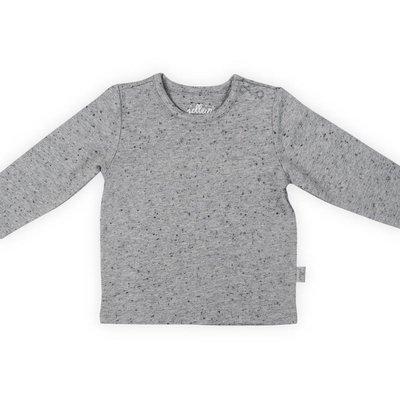 Jollein Shirt speckle grey lange mouw