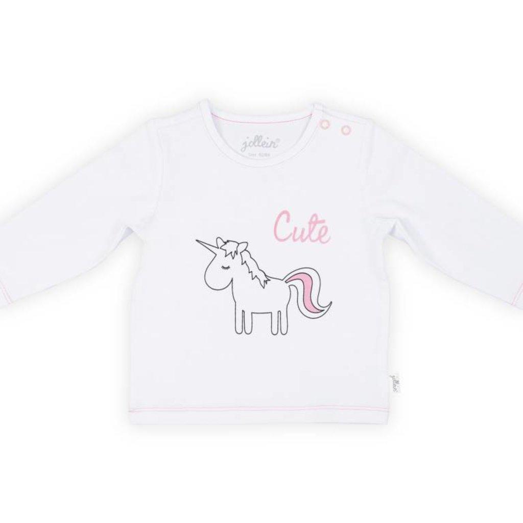 Jollein Jollein; Shirt lange mouw unicorn