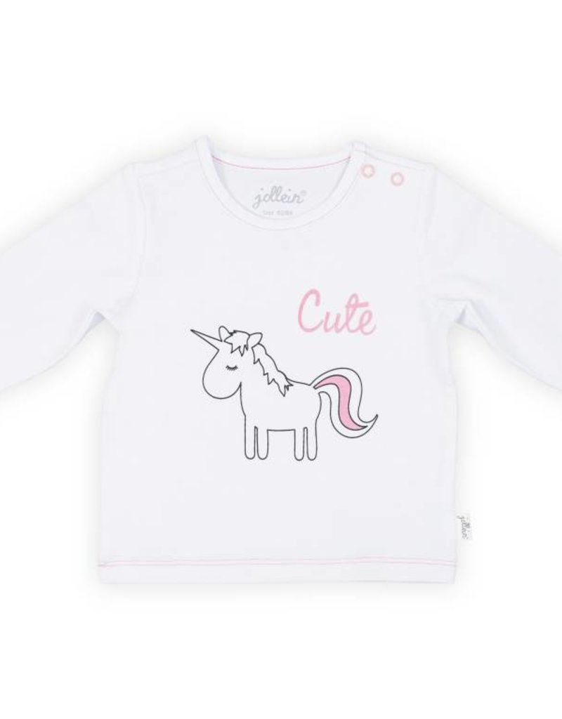 Jollein Shirt lange mouw unicorn