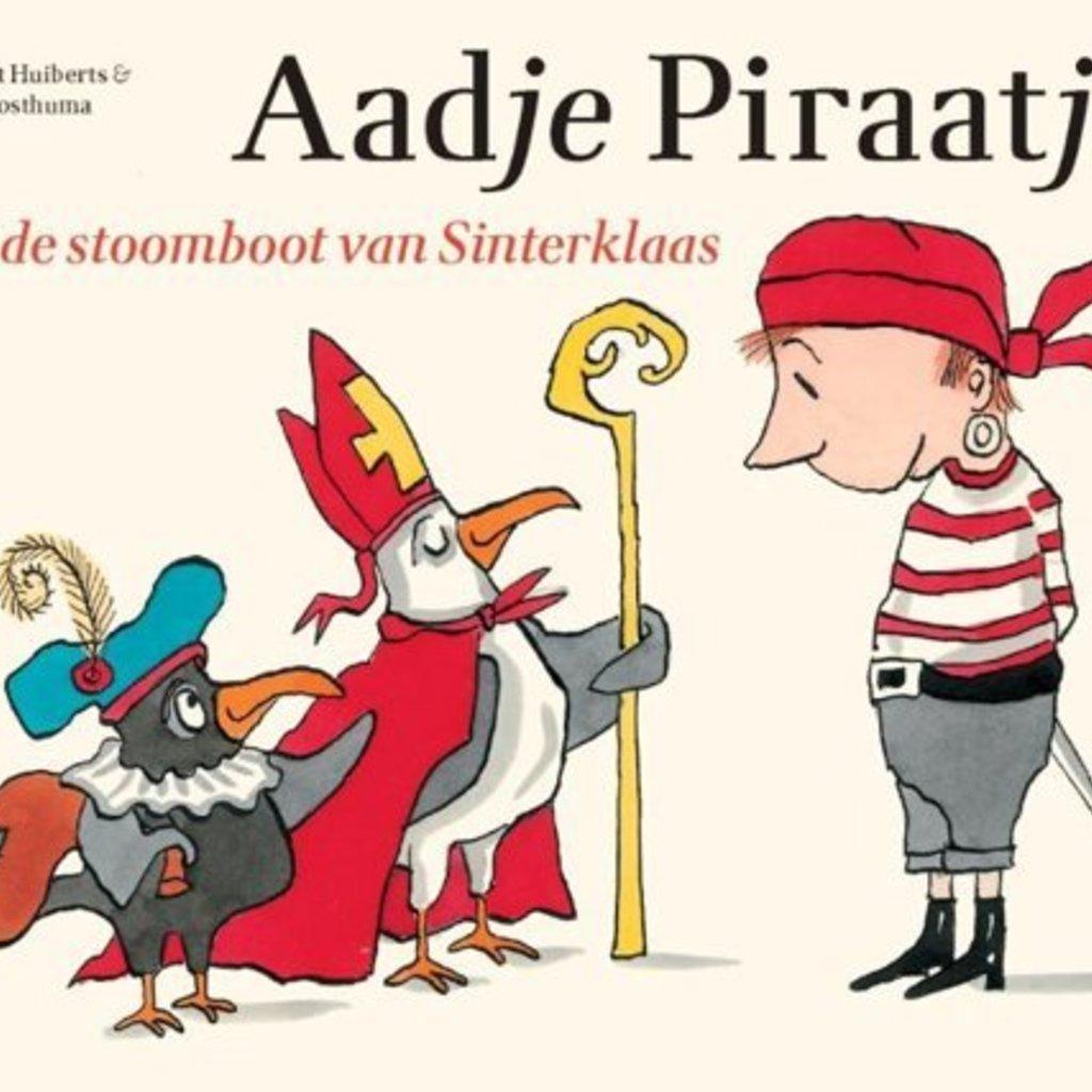 Gottmer Kinderboek Aadje Piraatje en de stoomboot van Sinterklaas